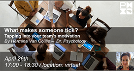 What makes someone tick? – Tapping into your team's motivation